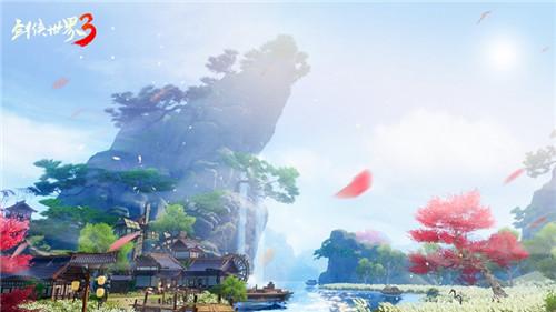 次世代武侠觉醒!《剑侠世界3》安卓首测今日开启