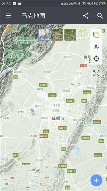 马克地图截图