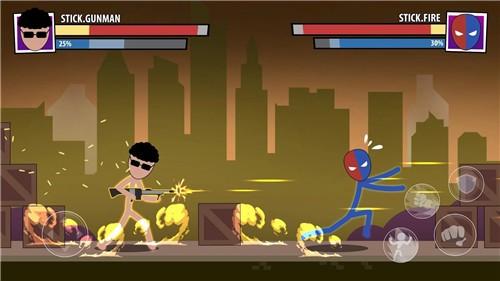 棒面具超级英雄截图