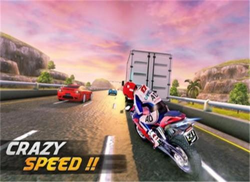 高速公路摩托车赛截图