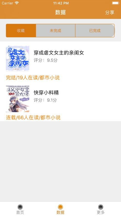 青青芒小说截图