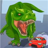 侏罗纪恐龙破坏城市